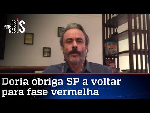 Fiuza: Doria faz política ao anunciar medidas sanitárias