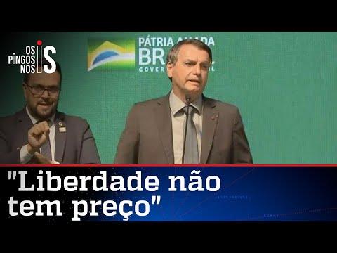 Em Chapecó, Bolsonaro volta a descartar lockdown nacional