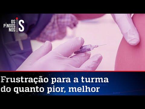 Brasil vacina 1 milhão em 24 horas, mas críticos só enxergam números ruins