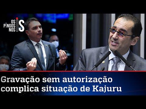 Flávio Bolsonaro representa Kajuru no Conselho de Ética