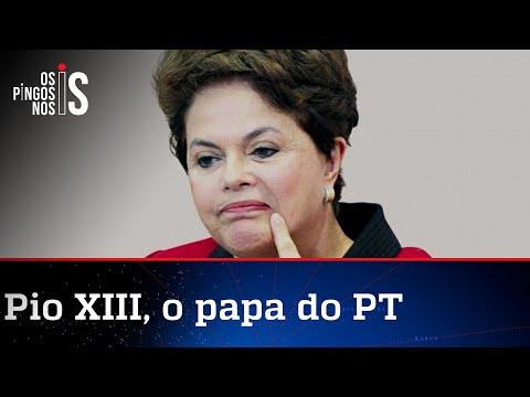 Dilma entra em pane e cria papa que nunca existiu