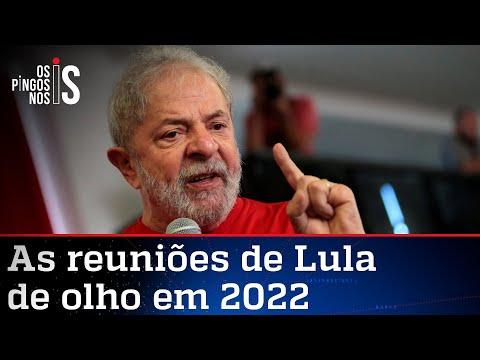 Lula tem semana cheia em Brasília para cooptar base para 2022