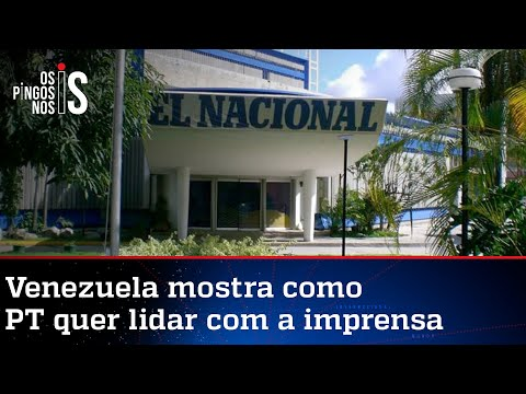 Ditadura venezuelana confisca prédio de jornal opositor