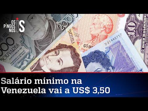 Venezuela aumenta salário mínimo e já é quase possível comprar 1 Kg de carne
