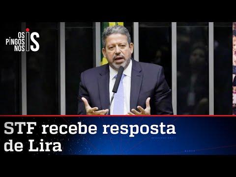Lira reafirma ao STF que não há prazo para analisar impeachment de Bolsonaro