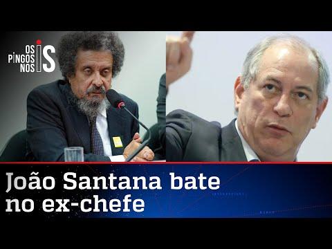 João Santana manda Ciro subir o tom contra Lula