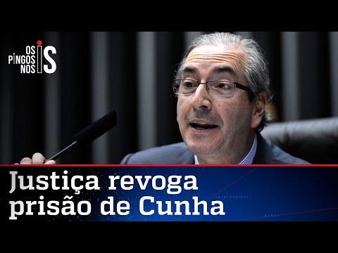 Justiça deixa Cunha livre, leve e solto
