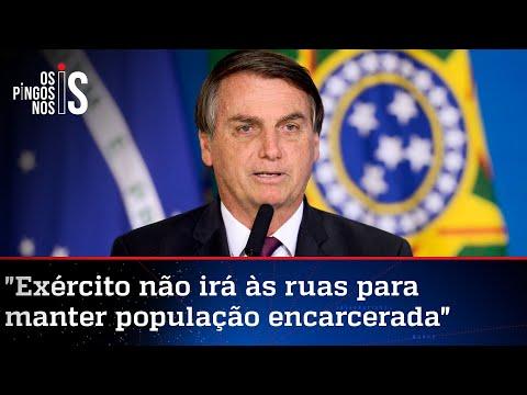 Bolsonaro já tem pronto decreto garantidor da liberdade