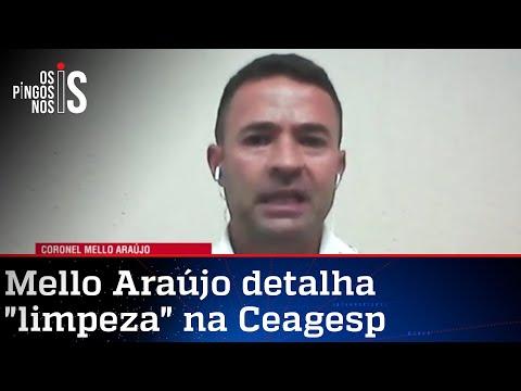 Exclusivo: Coronel Mello Araújo traz novos detalhes sobre crimes na Ceagesp