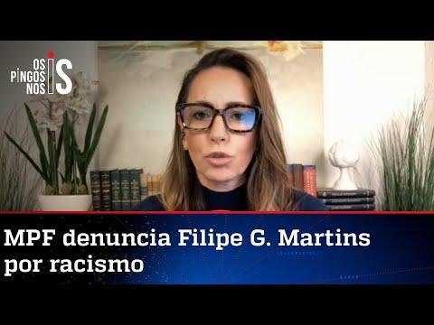 Ana Paula Henkel: Denúncia contra Filipe G. Martins é histeria para atacar o governo