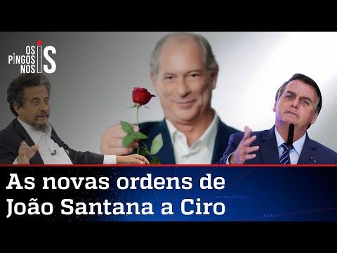 João Santana quer que Ciro esqueça Lula e ataque Bolsonaro