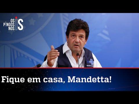 Mandetta organiza reunião presencial com membros de partidos contra Bolsonaro