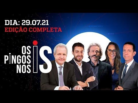 LIVE BOMBA DE JAIR BOLSONARO: A URNA EM XEQUE – Os Pingos Nos Is – 29/07/21