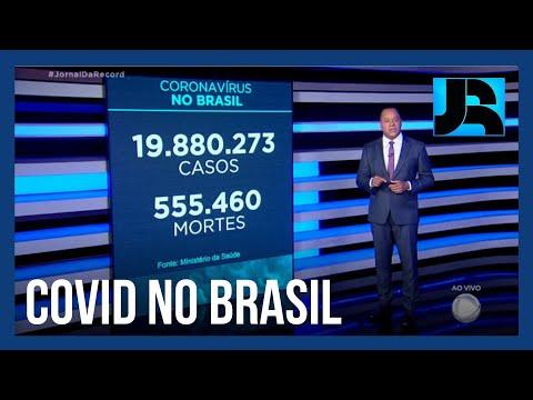 Coronavírus: Brasil registra 555.460 mortes, 963 nas últimas 24 horas