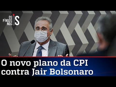 Renan quer tirar poder de Lira para decidir o impeachment de Bolsonaro