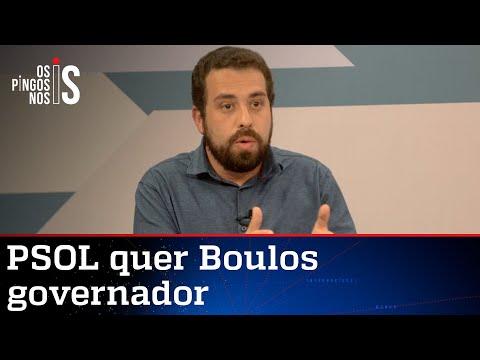 PSOL quer lançar Guilherme Boulos ao governo de São Paulo