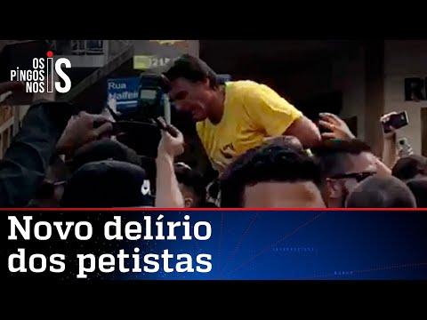 PT espalha fake news sobre a facada em Bolsonaro