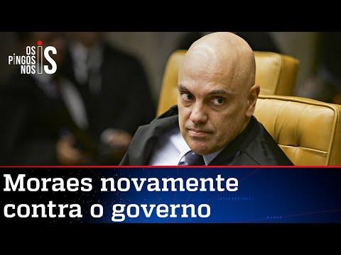 Moraes vota contra decretos sobre armas editados por Bolsonaro
