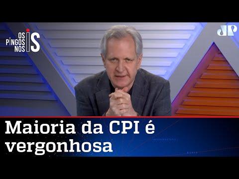 Augusto Nunes: Renan, Aziz e Randolfe não têm vergonha na cara