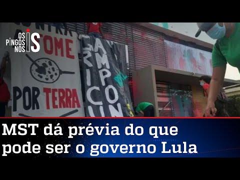 MST invade e vandaliza sede da Aprosoja em Brasília