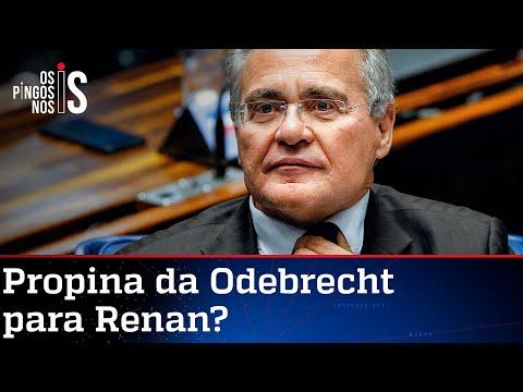 PGR quer aprofundar investigação se Renan recebeu propina da Odebrecht