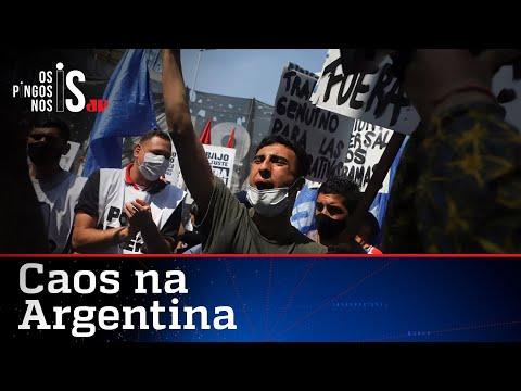 Argentina congela preços e agora tem risco de desabastecimento