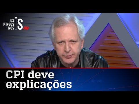 Augusto Nunes: Senadores da CPI têm que explicar fake news sobre Bolsonaro