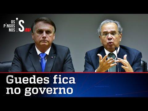 Imprensa tenta demitir Guedes, mas Bolsonaro reafirma confiança no ministro