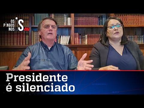 Redes sociais derrubam live de Bolsonaro com informações de site de revista
