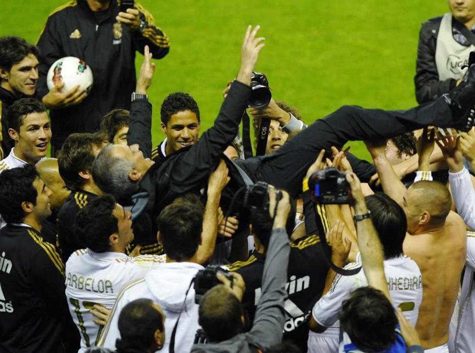 Mourinho campeão pelo Real Madrid