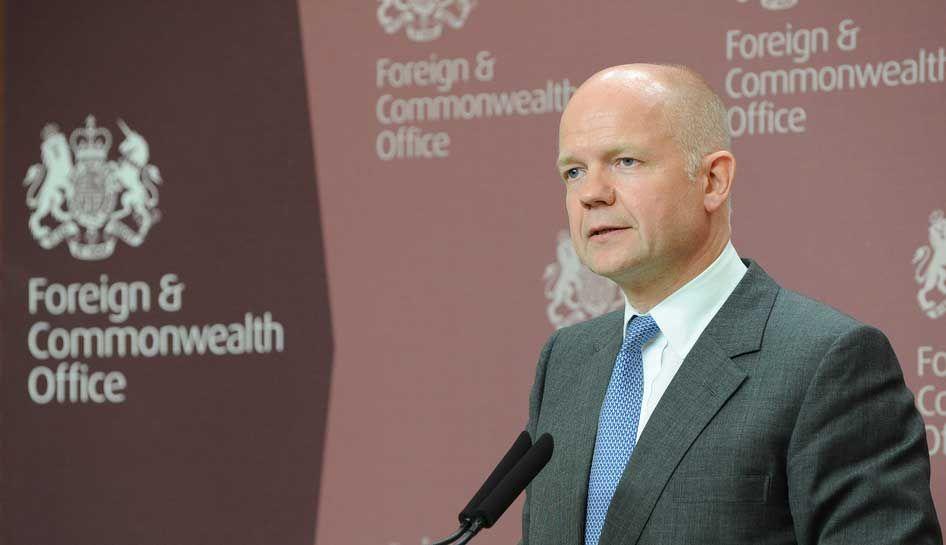 William Hague, actual secretário do Foreign & Commonwealth Office
