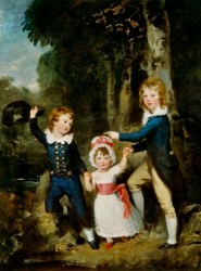 Sir Thomas Lawrence - The Cavendish Children (1790)
