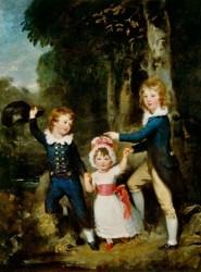 Sir Thomas Lawrence - The Cavendish Children (1790)