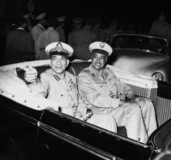 Nasser e Naguib, 1954