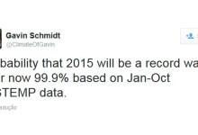 Photo of 2015, o ano mais quente de sempre