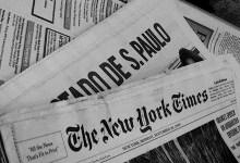 """Photo of """"The news is broken"""""""