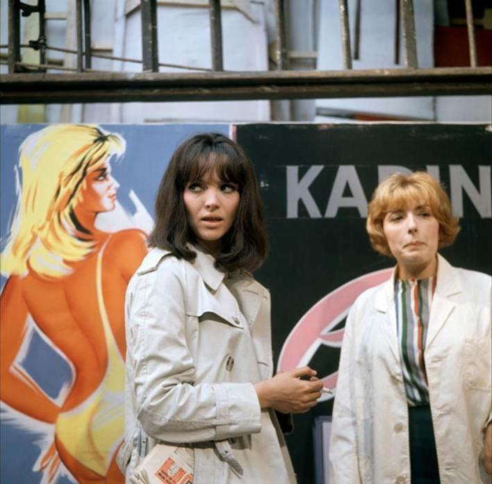 Anna Karina no filme Made in USA que foi a capa da 10ª edição do LEFFEST'16