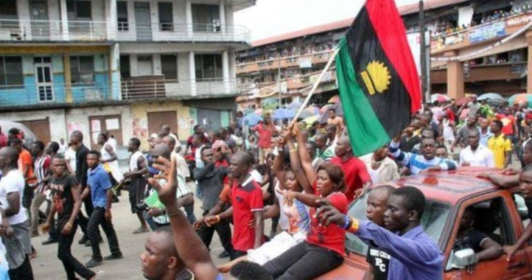 Video: it has been confirm that IPOB will have their Nation this Year – IPOB Member reacts