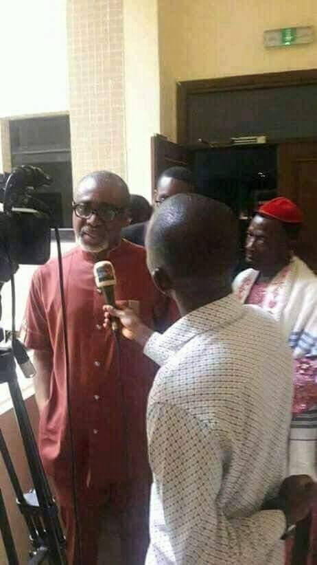 """Those calling for my arrest should first go and arrest Fulani herdsmen"" – Abaribe breaks silence over arrest"