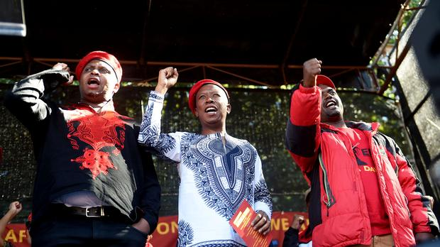 Robert Mugabe Is Greatly Respected For Land Reform but must to step down : Julius Malema
