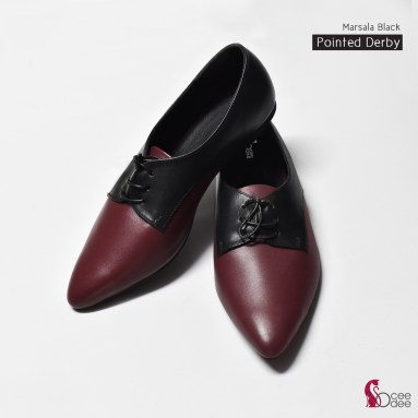 Marsala Pointed Derby