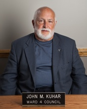John Kuhar has been a member of Kent city council for just over 10 years. Photo credit kentohio.org