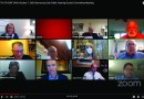 Screenshot of the Kent city council committee live meeting from YouTube