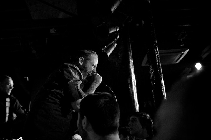 "Boysetsfire in ""The Fleece"" in Bristol (Foto by AngryNorman)"