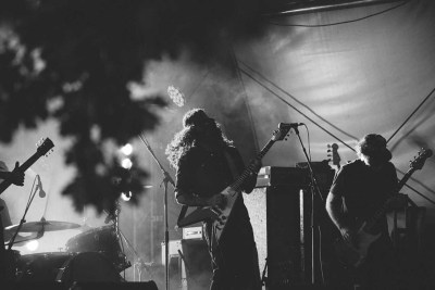 Brant Bjork auf dem Lake on Fire 2017 (Foto: Milena Zivkovic)