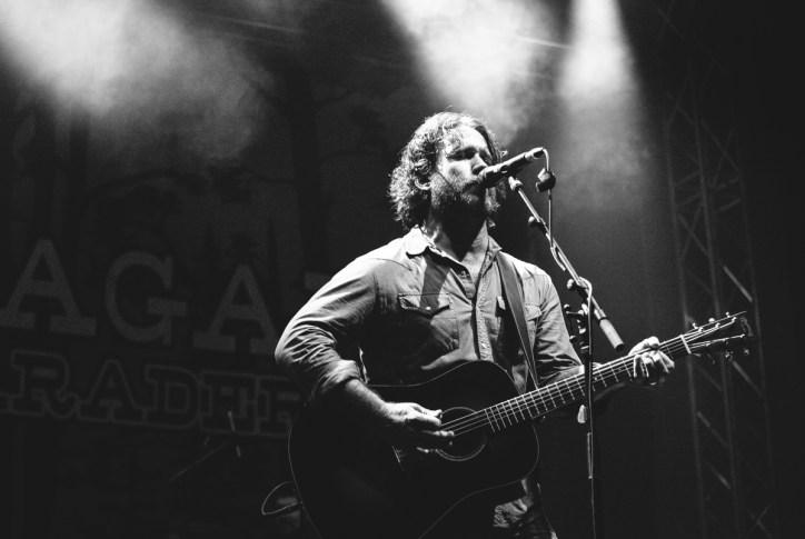 Chuck Ragan & The Camaraderie auf dem Chiemsee Rocks 2015 (Photo by Milena Zivkovic)