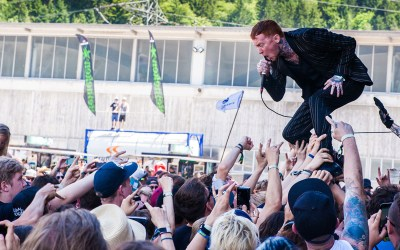 Reportink on tour auf dem Greenfield Festival 2017 – Tag 3