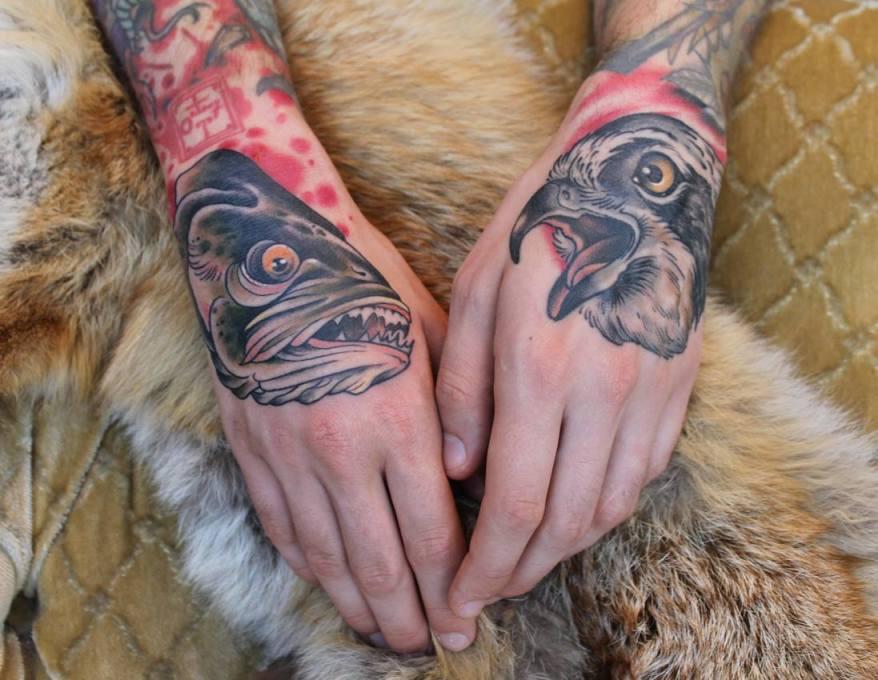 Tattoo von Kristin Schubert (Foto: Holy Diver Custom Tattoo)