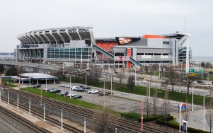 First Energy Stadium on the waterfront.