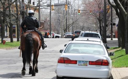 Patrolling West 32nd